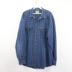 90s Guess Mens Large Western Button Front Shirt